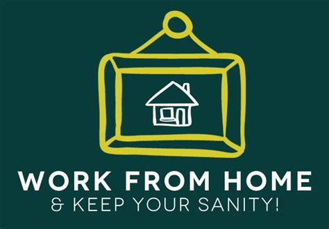 how to work from home keep your sanity ciera design studio