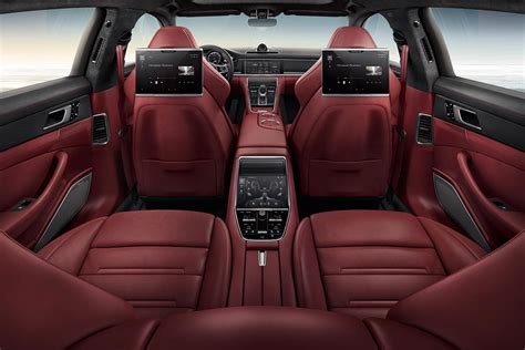 porsche panamera red interior 2017 porsche panamera turbo red interior autobics