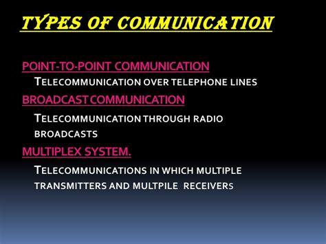 Telecommunication Ppt Telecommunication Presentation