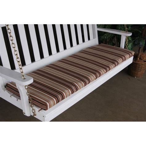 porch bench swing 4 ft bench porch swing glider outdoor cushion furniture barn usa