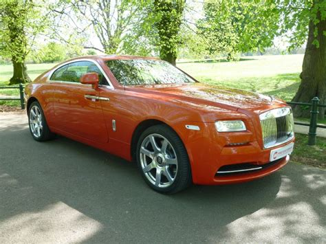 roll royce orange used orange rolls royce wraith for sale northtonshire