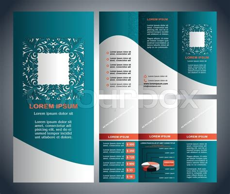 design art brochure creative brochure design templates vintage style brochure