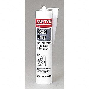 Loctite Sealer Rtv 5699 Grey Silicone 80ml loctite gasket silicone rtv si 5699 grey 300ml gasket sealants lct18581 18581 acklands
