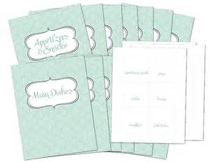 free printable recipe template 6 best images of free binder covers printable pages