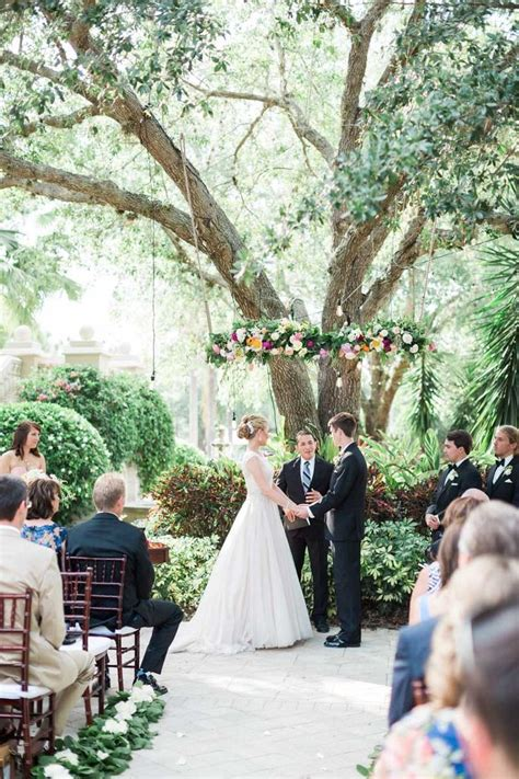 Naples Wedding Receptions by A Dreamy Blush Wedding At The Club At The Strand In Naples