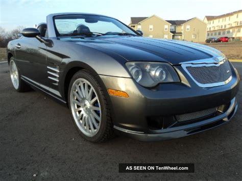 chrysler amg 2005 chrysler crossfire convertible roadster srt 6 amg