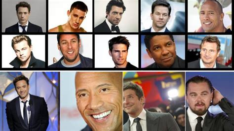 top hollywood actors 2018 top 10 highest paid actors in hollywood 2017 highest
