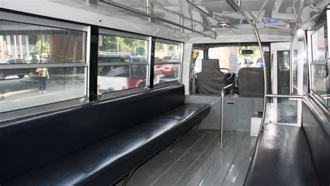 jeepney interior philippines this jeepney modernization program could provide better