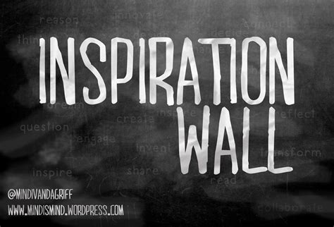 wall inspiration word wall mindi s mind