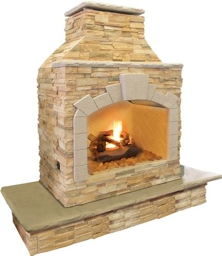 Cal Outdoor Fireplace by Cal Frp909 Outdoor Fireplace Garden And Outdoors
