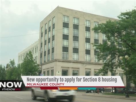 section 8 housing wisconsin milwaukee county section 8 housing opens again tmj4