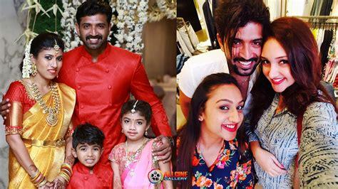 tamil actor vijay family hd photos actor arun vijay family photos with wife daughter son