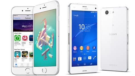 Hp Sony Xperia Z3 Di Malaysia iphone 6 vs sony xperia z3 compact comparison pc advisor