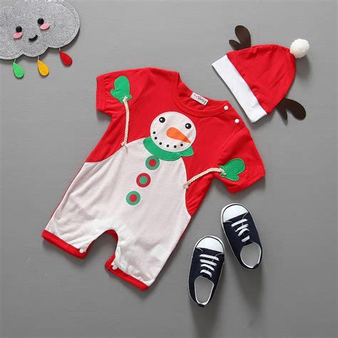 new year baby clothes baby rompers witer baby and boys clothes