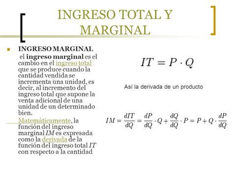 calculo del ingreso marginal youtube teoria del costo de produccion ppt video online descargar