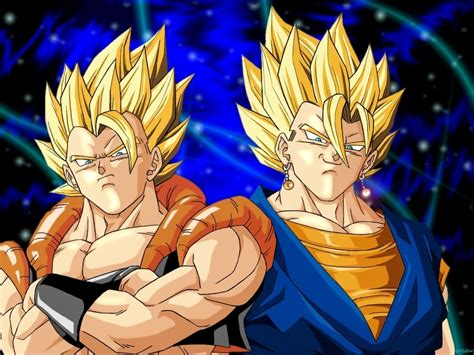 wallpapers dragon ball z fusion dragonball z movie characters images gogeta and super