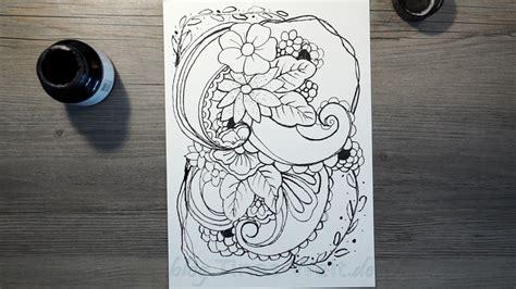 Muster Zeichnen Muster Zeichnen Bambusfeder Tinas Welt De