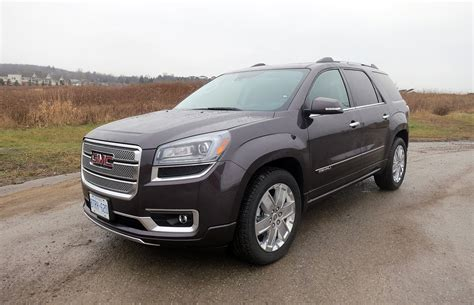 suv gmc denali suv review 2015 gmc acadia denali driving