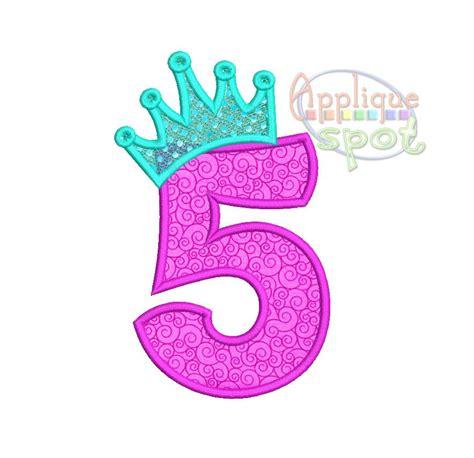 Crown 4 In1 Baby Machine princess crown fifth 5th birthday 5 4x4 5x7 6x10