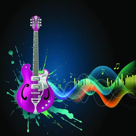 music themed cool music theme vector 3 download free vector 3d model