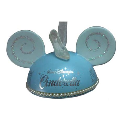 cinderella glass slipper ornament your wdw store disney ears ornament walt disney s