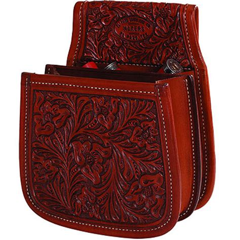 Cowboy Style Home Decor western leather skeet trap shotgun shell belt pouch otp
