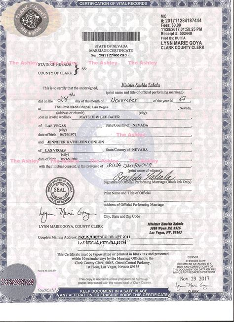 Marriage License Records Las Vegas 88 Las Vegas Wedding License Records Clark County Marriage Records Search Las