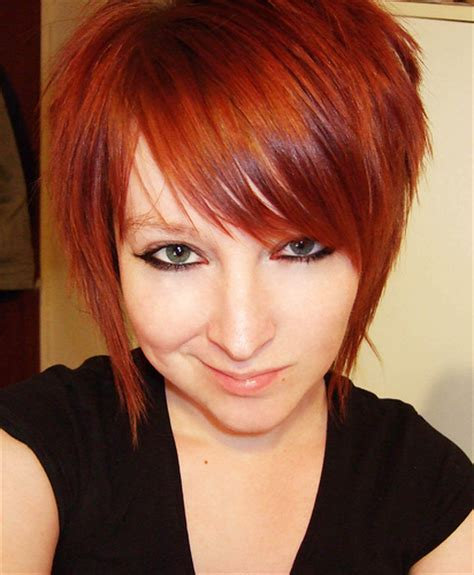 red hair colors and new hair styles for spring 2015 latest hairstyles haircut pictures trendy short emo