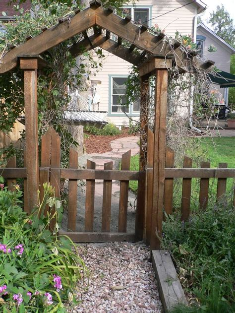 Garden Arbor Arch Plans Top 25 Ideas About Garden Gate Ideas On