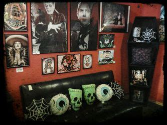 horror themed home decor this is my ultimate dream living room i think i need to