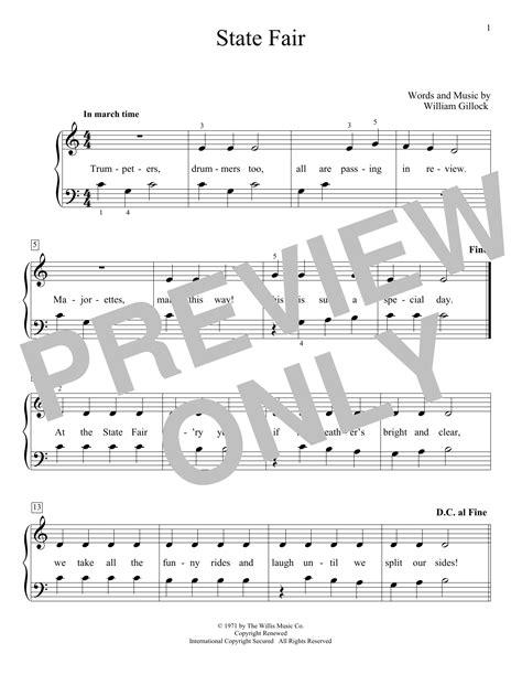 State Fair (Educational Piano) - Print Sheet Music Now