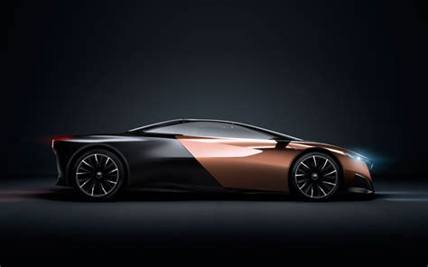 Onyx Concept Cars by Peugeot Onyx Concept Car Future Car Technology