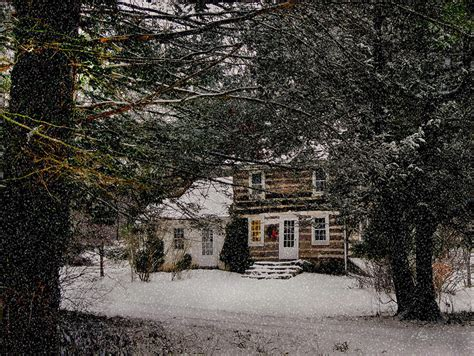Winter Cottage by Winter Cottage By Gordon Beck