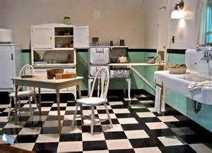 1930s kitchen floors the country farm home farmhouse style kitchens with checkerboard floors