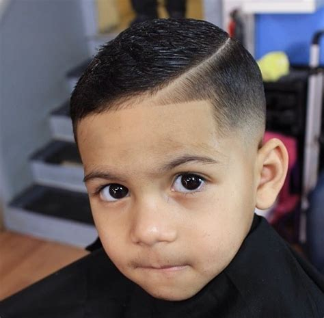 shaved in parting for boys kids comb over yelp