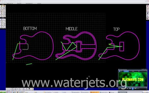 omax layout free download wooden electric guitar waterjets org