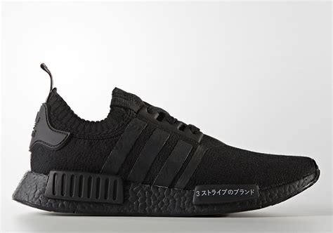 adidas japan nmd adidas nmd r1 primeknit japan triple black bz0220