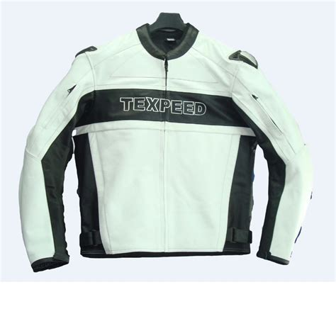 leather racing jacket texpeed mens leather white black racing jacket leather