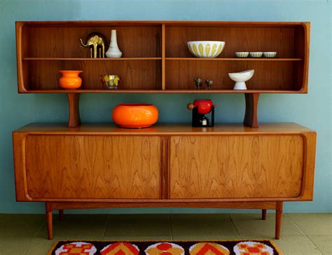 mid century love this sideboard with added hutch retro mid century