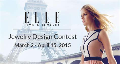 design contest jobs pinshape elle launch 3d printable jewelry design contest