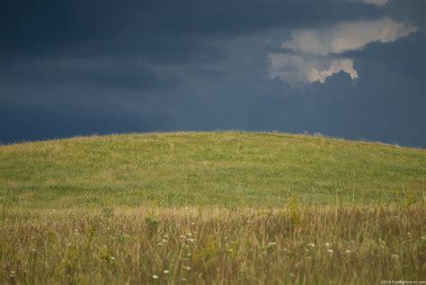 The Field cloudy field