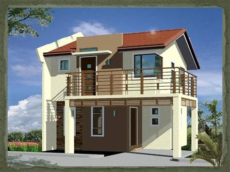 house design ideas for 50 sqm a two storey 2 bedroom home fitting in a 75 square meter 7 5 meters x 10 meters lot with a
