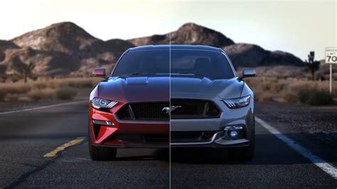 2018 vs 2017 ford mustang poll photo comparison