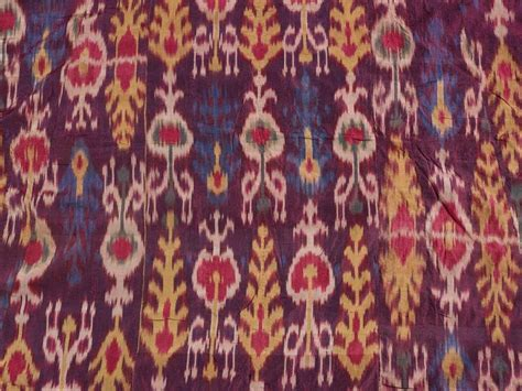 uzbek journeys ferghana valley silk ikats tying the clouds the flying carpets ikat it s all the rage in rugs by