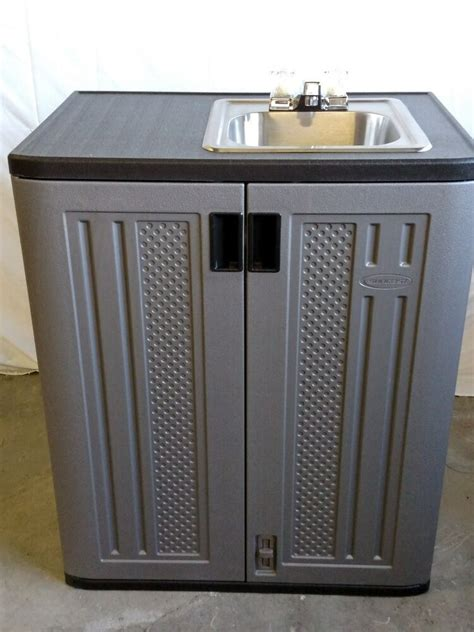 Outside Sinks by Portable Indoor Outdoor Sink With Water Ebay