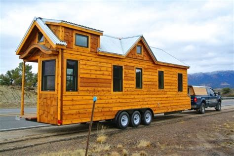 homes on wheels superb craftsmanship defines this 30 tiny house on wheels