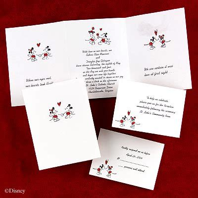 disney wedding invitation cardsCherry Marry Cherry Marry