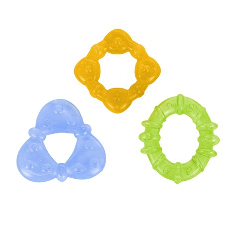 Pur Water Filled Teether 6m nuby icybite teether styles may vary baby