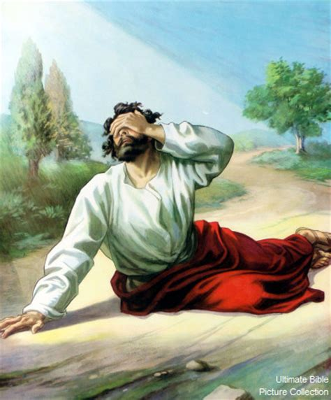 acts 9 bible pictures saul blinded by the light from heaven