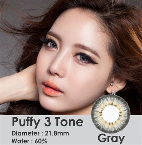 Eye Softlens Grey softlens 3 tones gray 21 8mm softlens